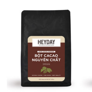 Bột cacao nguyên chất Origin - Heyday Cacao